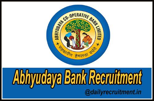 Abhyudaya Bank Recruitment 2019