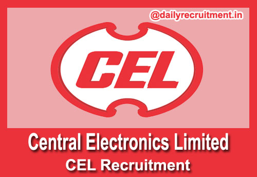 CEL Recruitment 2018