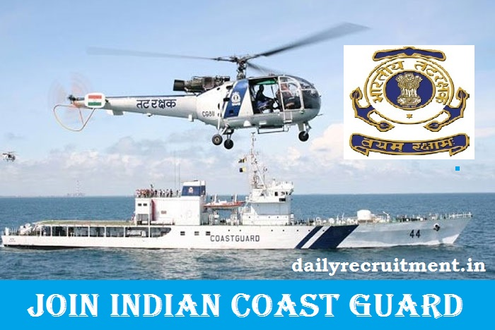Join Indian Coast Guard Recruitment 2021
