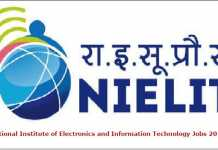 NIELIT Recruitment 2017