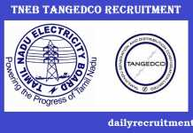 TNEB TANGEDCO Recruitment 2018