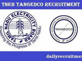 TNEB TANGEDCO Recruitment 2018