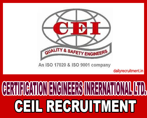 CEIL Recruitment 2019, 167 Engineer Vacancies, Walk in Interview