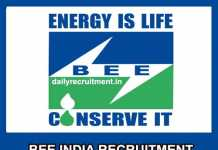 BEE India Recruitment 2019