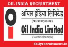 Oil India Recruitment 2018