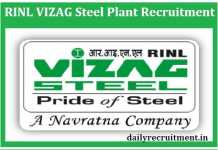 RINL Vizag Steel Plant Recruitment 2019