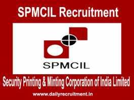 SPMCIL Recruitment 2018