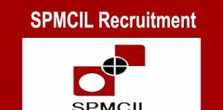 SPMCIL Recruitment 2018