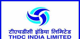 THDC Recruitment 2019