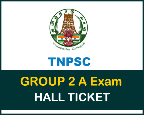 TNPSC-Group2a-Hall-ticket