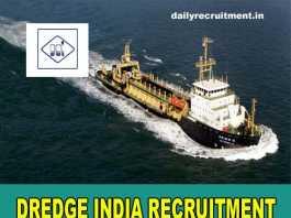 Dredge India Recruitment 2018