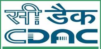 CDAC Noida Recruitment 2018