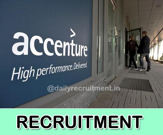 Accenture Recruitment 2019