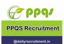 PPQS Recruitment 2019