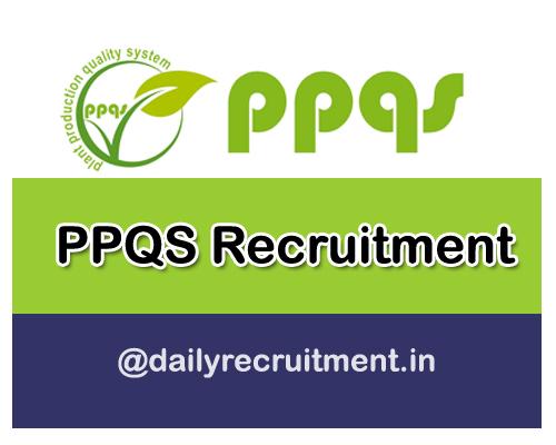 PPQS Recruitment 2020