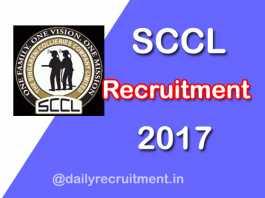 SCCL Recruitment 2019