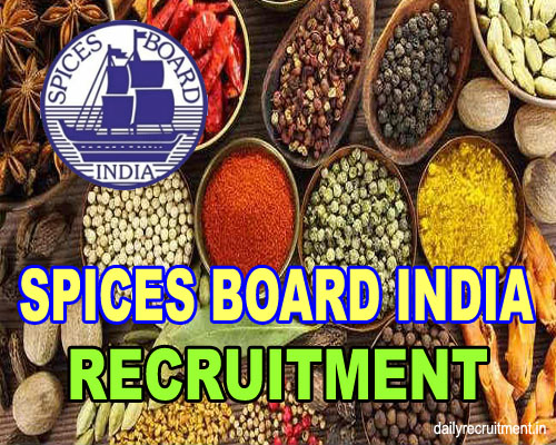 SPICES Board India Recruitment 2019