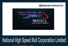 NHSRCL Recruitment 2019