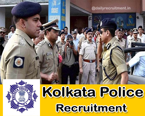 Kolkata Police Recruitment 2020