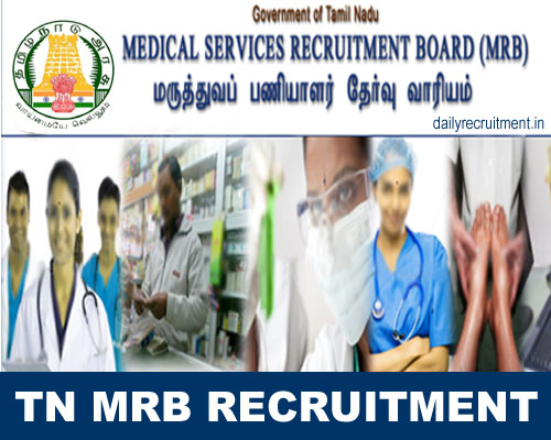TN MRB Recruitment 2019, 353 Pharmacist Job Vacancy, Apply online