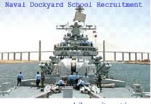 Naval Dockyard Mumbai Recruitment 2018