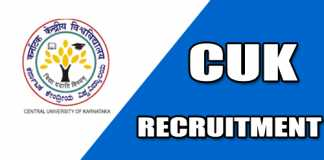 CUK Recruitment 2019