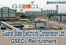 GSECL Recruitment 2018
