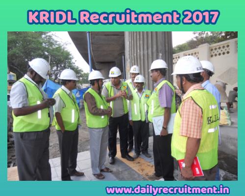 KRIDL Recruitment