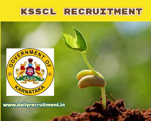KSSCL Recruitment