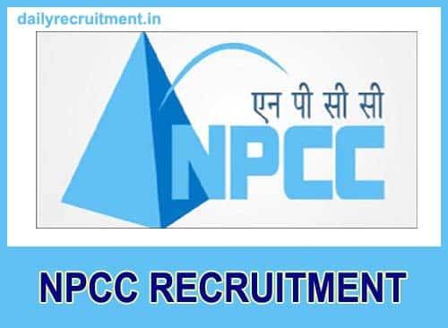 NPCC Recruitment 2019