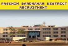 Paschim Bardhaman Recruitment