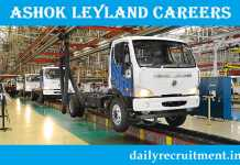 Ashok Leyland Recruitment 2019