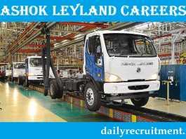 Ashok Leyland Recruitment 2019