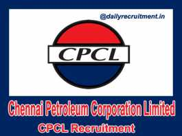 CPCL Recruitment 2018