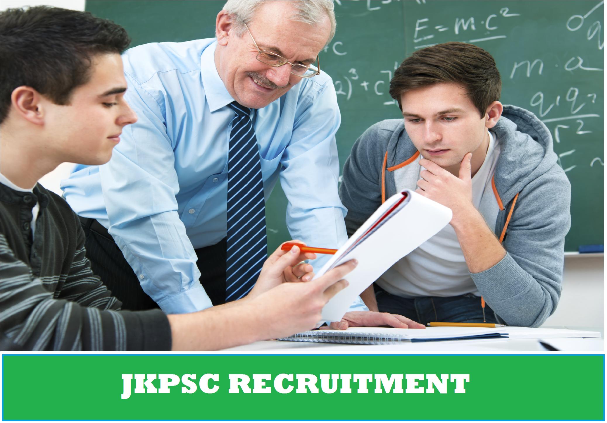 JKPSC Recruitment 2020