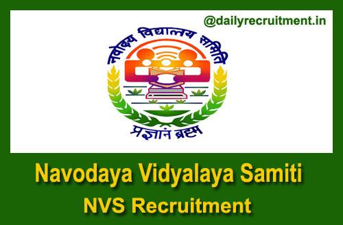 NVS Patna Recruitment 2021
