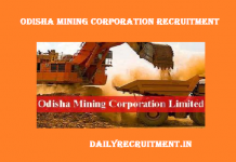 Odisha Mining Corporation OMC Recruitment 2018