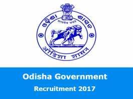 Odisha Government Recruitment