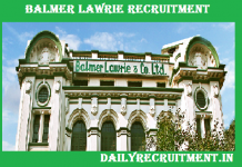 Balmer Lawrie Recruitment 2018