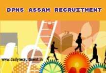 DPNS Assam Recruitment