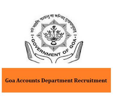 Goa Accounts Department Recruitment