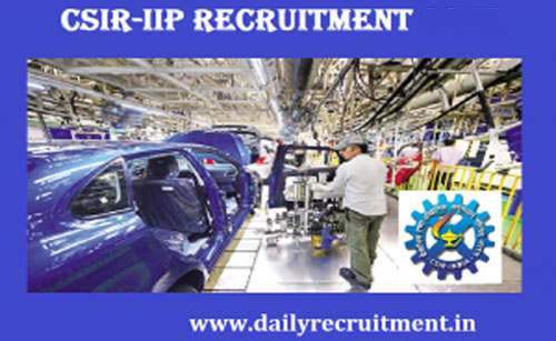 CSIR IIP Recruitment 2020