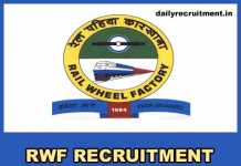 RWF Recruitment