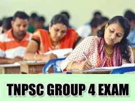 TNPSC Group 4 Exam Notification 2019
