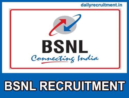 BSNL MT Recruitment 2019