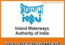 IWAI Recruitment 2019