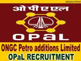 OPaL Recruitment 2019