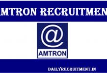 AMTRON Recruitment 2019