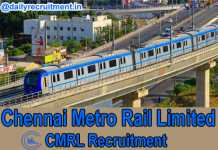 CMRL Recruitment 2019