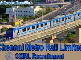 CMRL Recruitment 2019